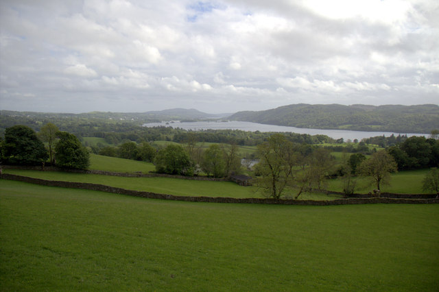 View from Holbeck Lane, Ambleside, Cumbria