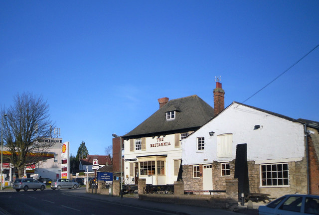 The Britannia, Headington