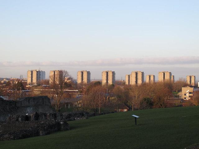 Thamesmead tower blocks