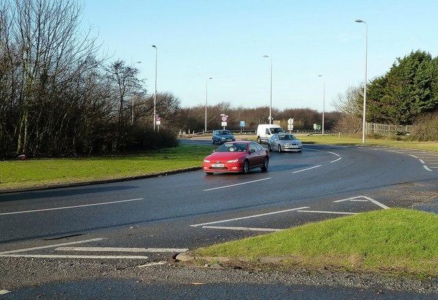 The A78 Near Barassie