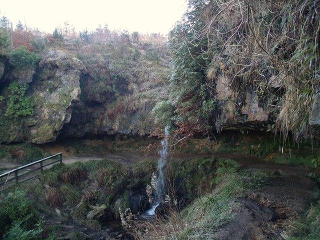 Waterfall, Maspie Den