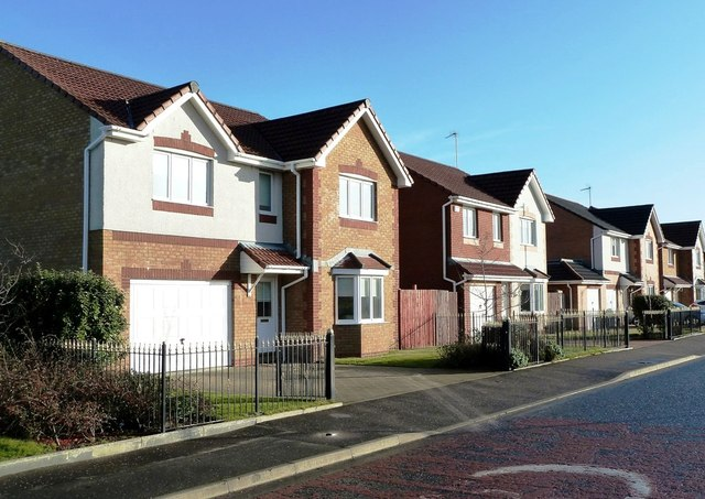 New Houses on Deveron Road