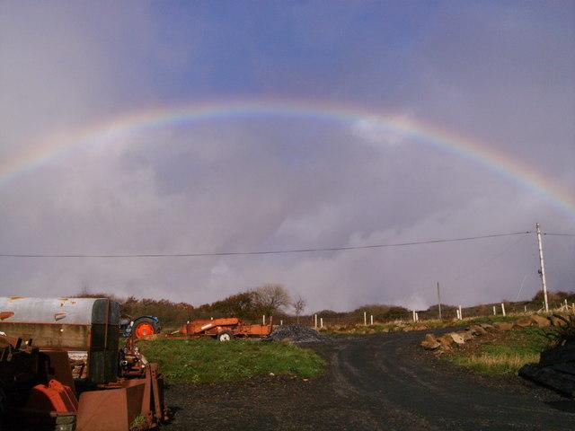 Rainbow from Llain Ceisiaid