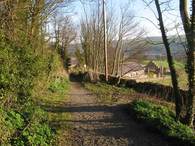 Bridlepath to Pabo Lane