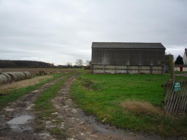 Bridleway at Kelfield Grange