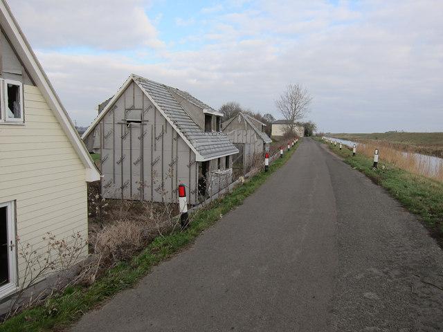 Abandoned houses, Purls Bridge