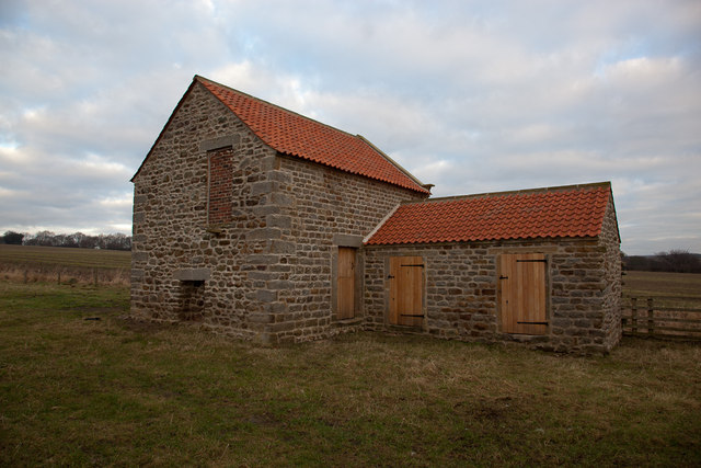 Recently renovated old barn
