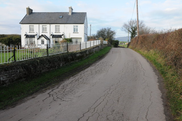 Road past Pool House