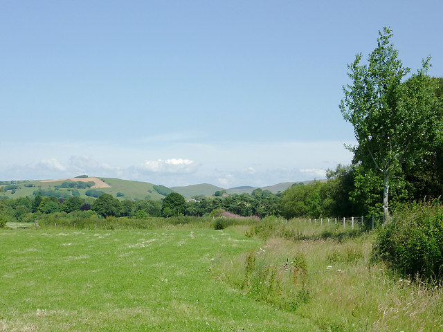 Site of dismantled railway south-west of Tregaron
