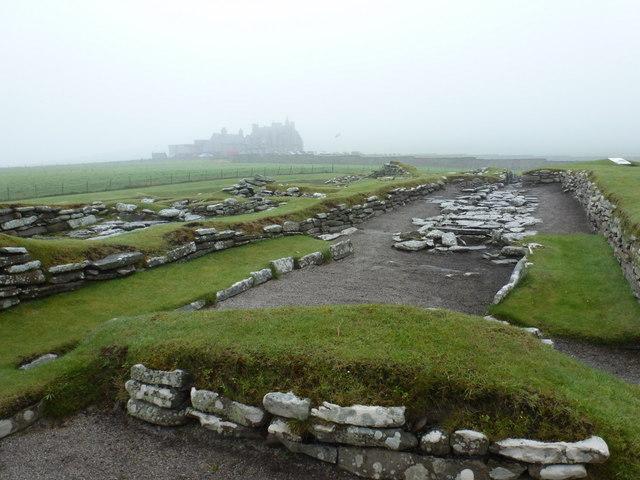 Jarlshof: the Viking settlement