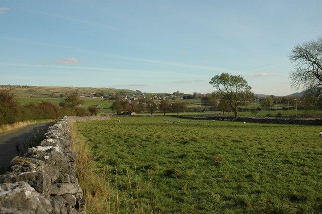 Fields by Grass Wood Lane