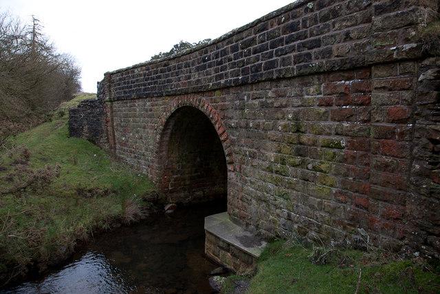 Original arch at Fairy Call Bridge