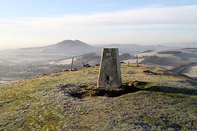 The Black Hill triangulation pillar