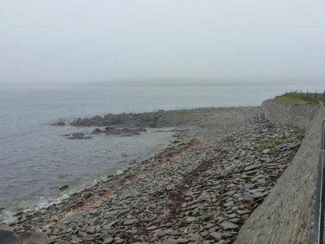Jarlshof: view along the shore