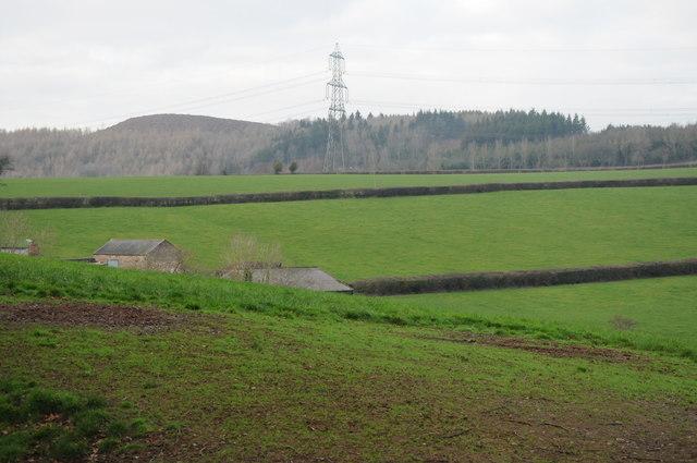 View to Ysgyryd Fach