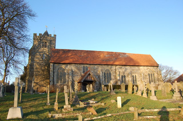 St Georges church, Brede