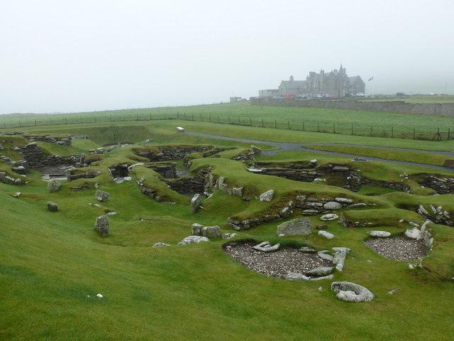 Jarlshof: Bronze Age remains