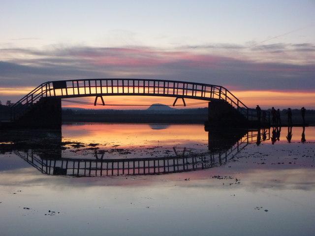 Coastal East Lothian : Sunset Bridge