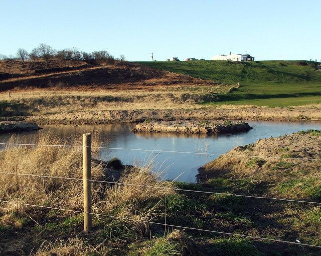 Pond, Warkworth Golf Club