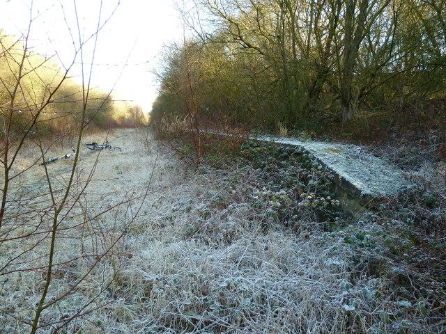 Mystery railway platform