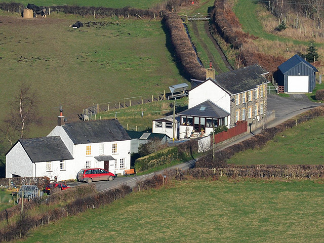 Cottages in Cwm Rheidol