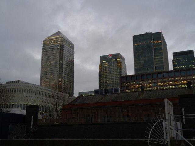 Dockland skyline