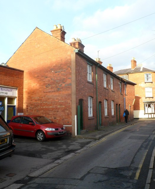 Monkmoor Street houses, Hereford