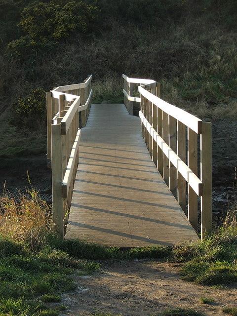 Bridge across the Burn - Warkworth