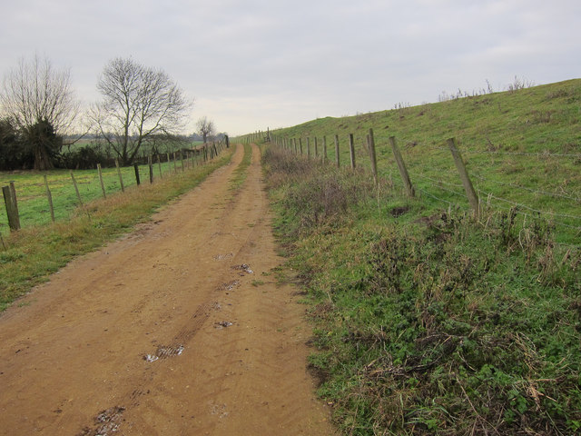 Bridleway along Ouse Washes