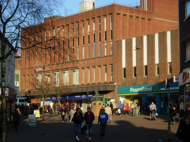 Upper Market Square, Hanley