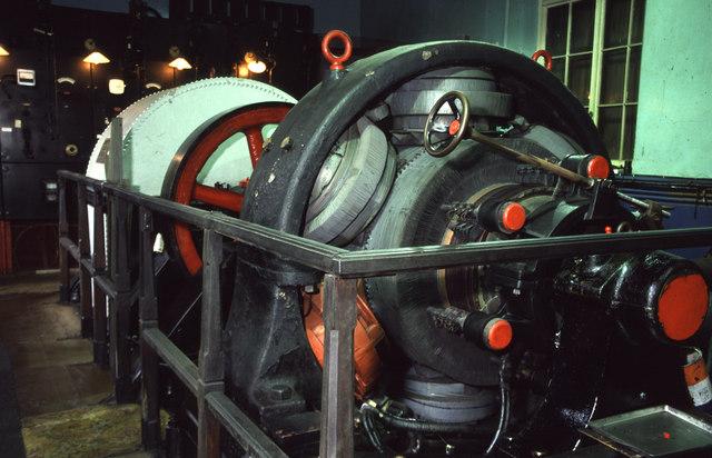 Hydroelectric power station, Llechwedd
