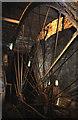 SE0428 : Lumb Mill, Wainstalls - waterwheel by Chris Allen