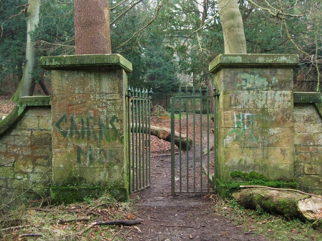 Gate to Forbes Mausoleum and Graveyard