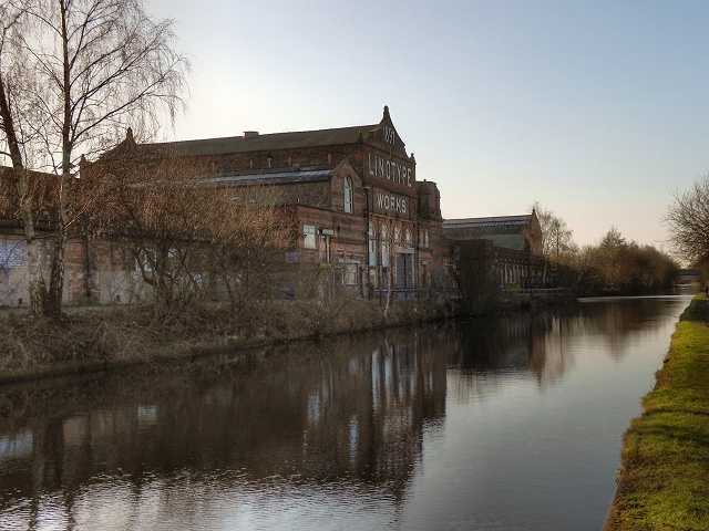 Bridgewater Canal, Linotype Works