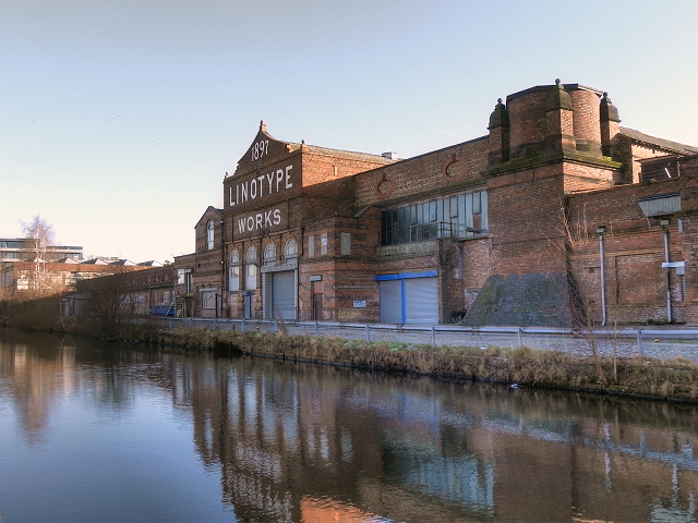 The Linotype Works, Bridgewater Canal