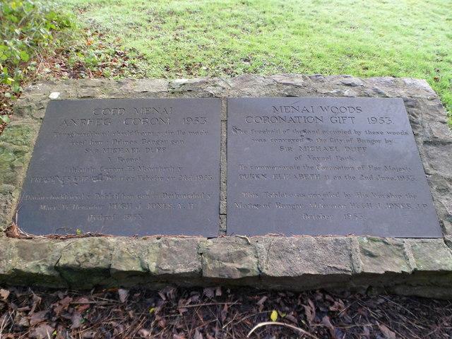 Menai Woods Memorial, Bangor