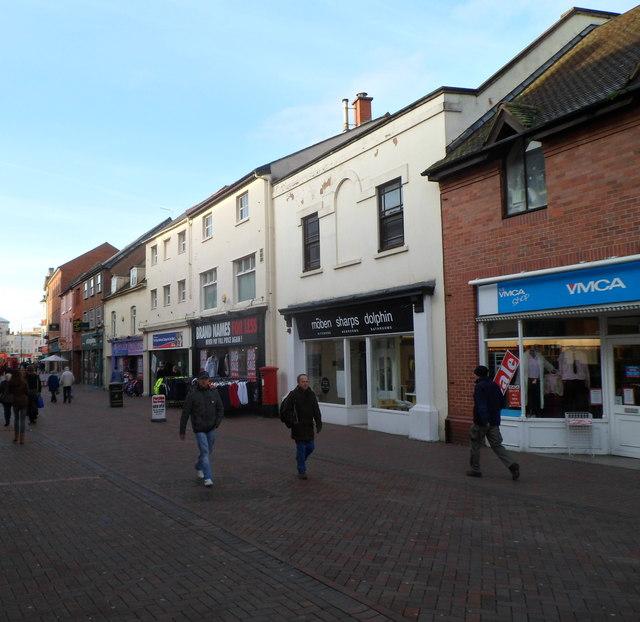 NE end of Commercial Street, Hereford
