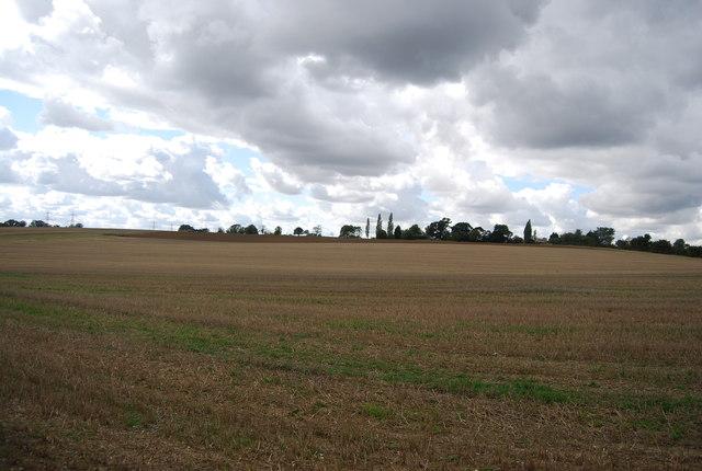 Farmland near Akenham