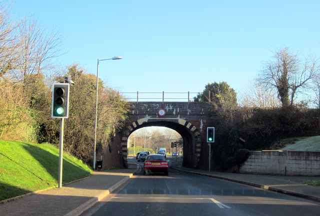 Worcester, Railway Bridge Over Windermere Drive
