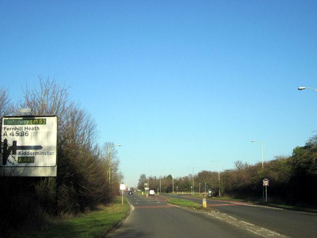 Fernhall Heath, Road Junction