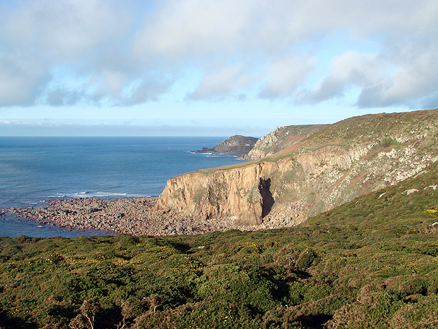 A view towards Cape Cornwall from the South West Coastal Path