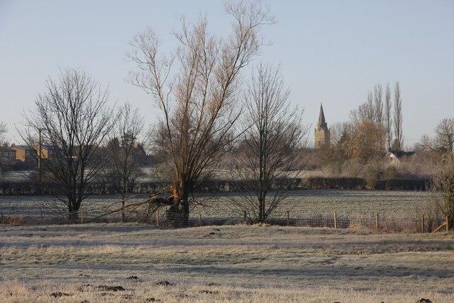 Towards Piddington on a cold morning