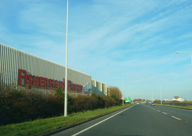 Amounderness Way and Fisherman's Friend Factory