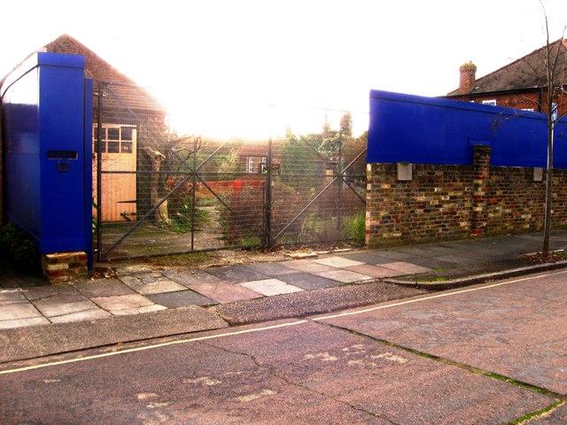 Demolished site, Heatham Park