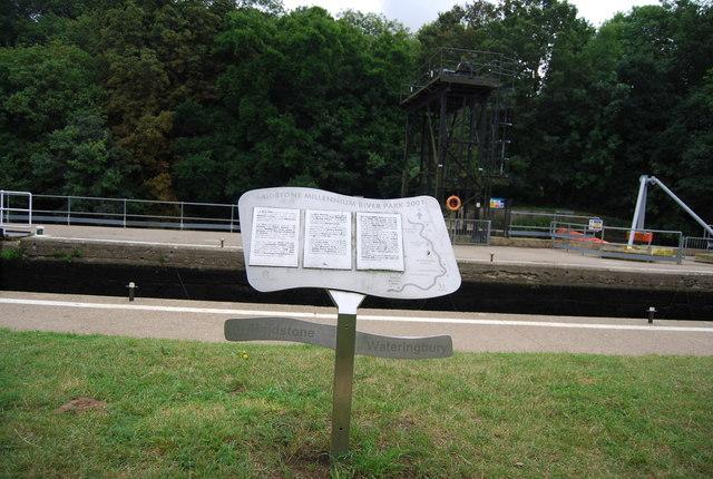 Information Board, Teston Lock