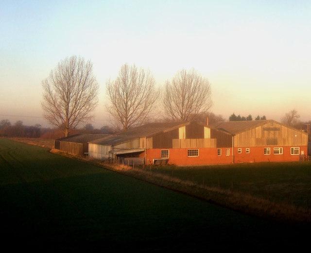 Farm buildings, Kirk Hammerton