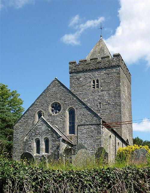 The Church of St. David, Llanddewi-Brefi, Ceredigion