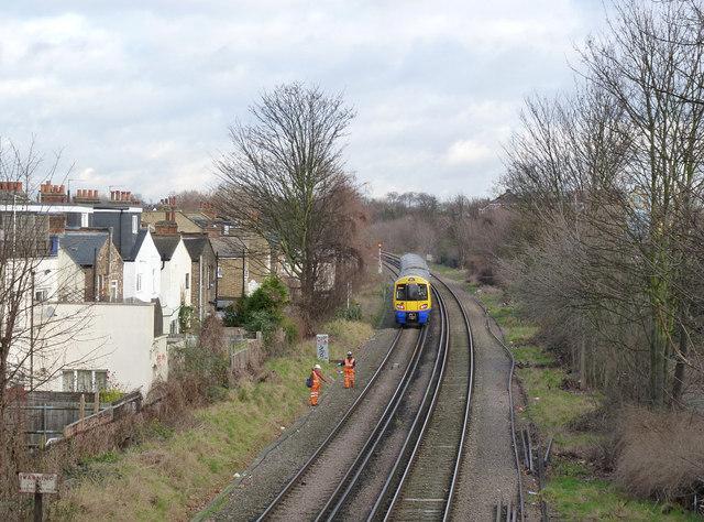 Overground to Stratford