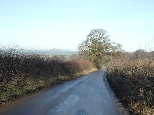 Black Hill Road towards Arthington