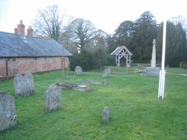 Dummer churchyard